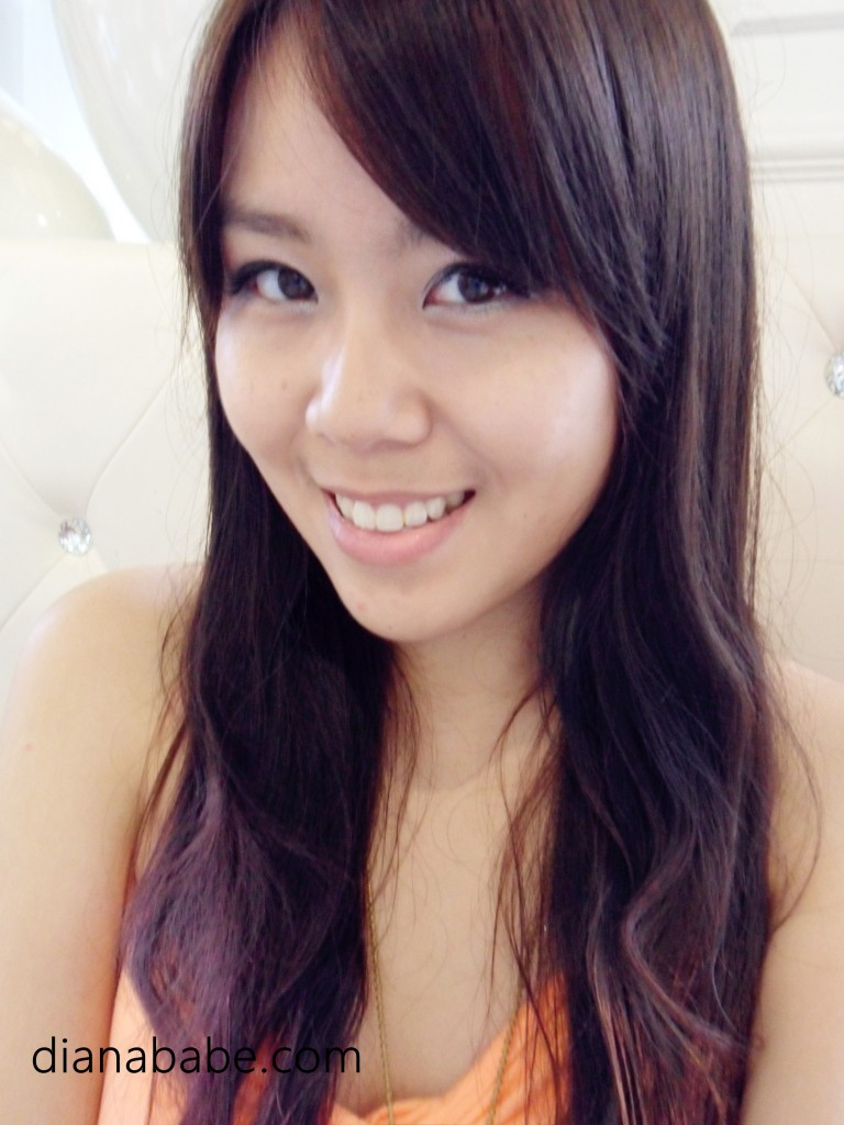 Dip Dye Your Hair With Only 5 Tutorial Dianababe Com