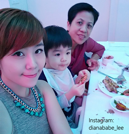 dianababe & family