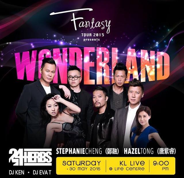 poster - fantasy tour - wonderland - KL