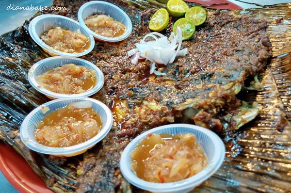 Spicy Ikan Bakar!