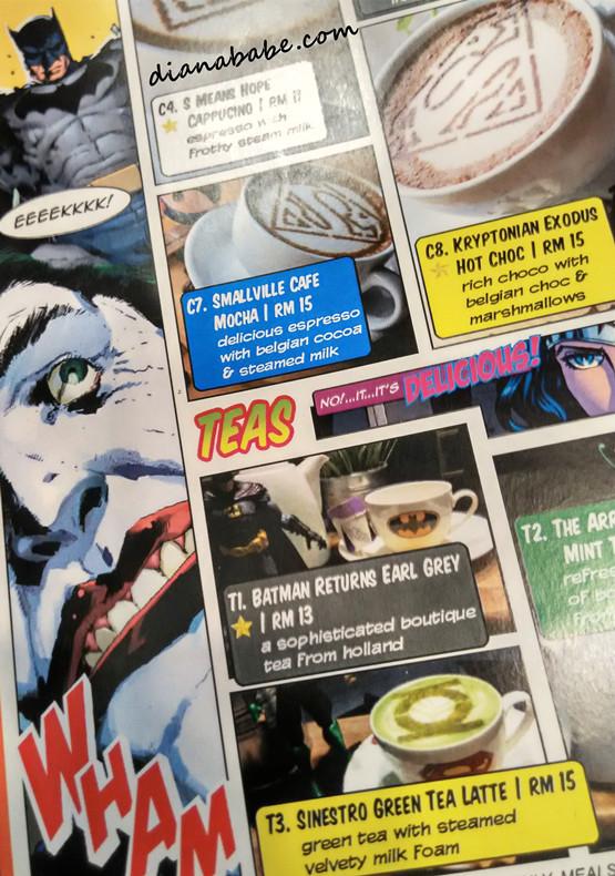 DC Comics Super Heroes - menu2