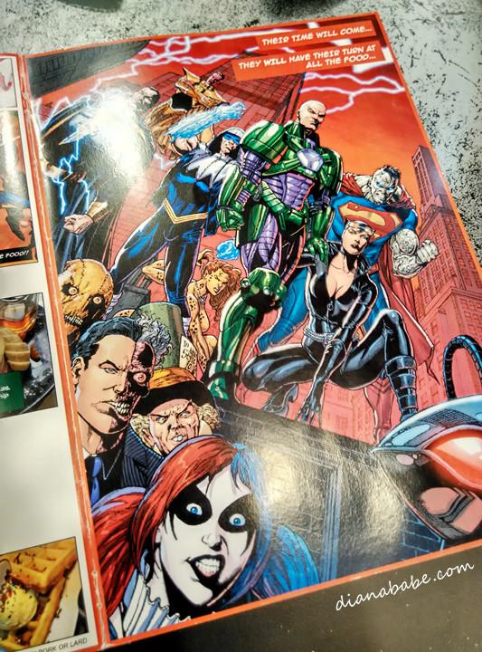 DC Comics Super Heroes - menu3