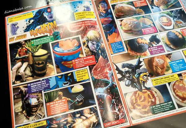 DC Comics Super Heroes - menu4