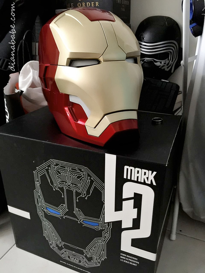 Iron man mark 42 helmet - home