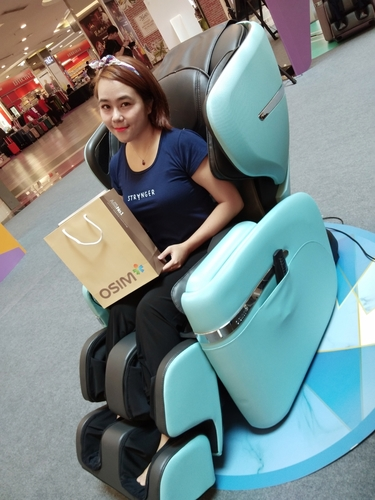 OSIM uDivine V Massage Chair: dreams do come true
