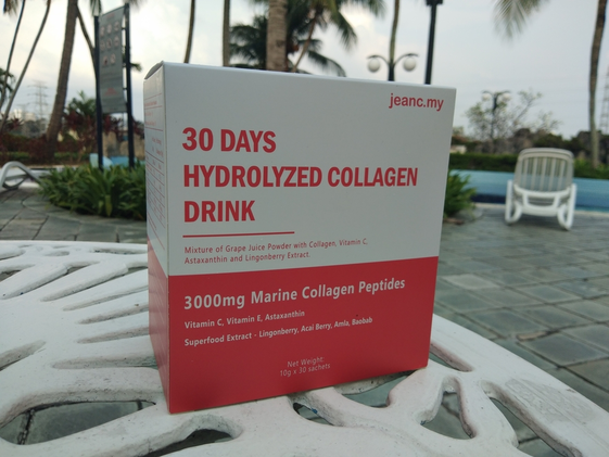 JeanC: Collagen Drink Malaysia [30-Day Skin Challenge]